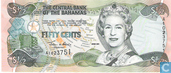 Billets de banque - 2000 Central Bank Act; 2001 Series - Bahamas 50 Cents 2001