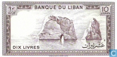 Billets de banque - Banque du Liban - Liban 10 Livres