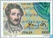 Postage Stamps - Italy [ITA] - Gaetano Donizetti