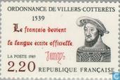 Verordnung von Villers Cotterets