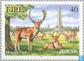 Postage Stamps - Ireland - Europe - Nature reserve and parks