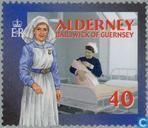 Postzegels - Alderney - Sociale diensten