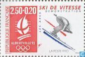 Postzegels - Frankrijk [FRA] - Olympische Spelen
