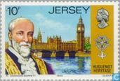 Postage Stamps - Jersey - Huguenot