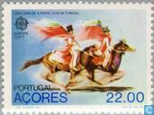 Postage Stamps - Azores - Europe – Folklore