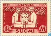Postzegels - Finland - 1.25 eeuwfeest van de nationale epos Kalevala
