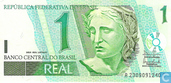 Banknoten  - Banco Central do Brasil - Brasilien 1 Real