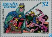 Postage Stamps - Spain [ESP] - Cartoon characters
