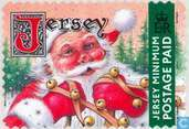 Timbres-poste - Jersey - Horloges