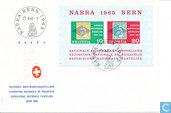 Stamp Exhibition NABRA letter