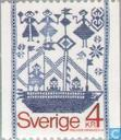 Postage Stamps - Sweden [SWE] - Woven wall hanging