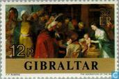 Postage Stamps - Gibraltar - Rubens, Peter Paul 1577-1640