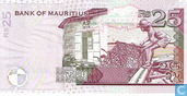 Billets de banque - Bank of Mauritius - Maurice 25 Roupies