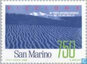 Postage Stamps - San Marino - Int. Stamp Exhibition Riccione