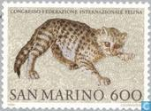 Timbres-poste - Saint-Marin - Chats