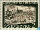 Timbres-poste - Luxembourg - Électrification
