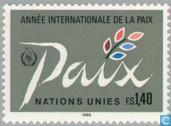 Postage Stamps - United Nations - Geneva - Int. Year of Peace
