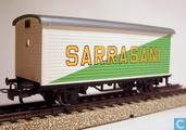 "Modeltreinen / modelspoor - Märklin - Gesloten wagen ""Sarrasani"""