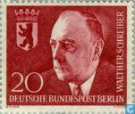 Postage Stamps - Berlin - Dr. Walther Schreiber