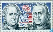 Postage Stamps - France [FRA] - 200 years of independence of America
