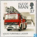 Postage Stamps - Man - fire department