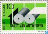 Postzegels - België [BEL] - Gazet van Antwerpen 1891-1991