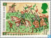 Postage Stamps - Great Britain [GBR] - Domesday Book 900 years
