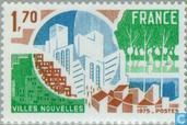 Postage Stamps - France [FRA] - New Cities