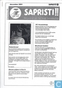 Comic Books - Sapristi!! (tijdschrift) - 20, december 2001