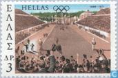 Postage Stamps - Greece - New Olympic Games 1896-1971