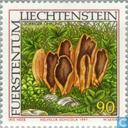 Postage Stamps - Liechtenstein - Mushrooms