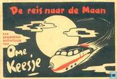 Bandes dessinées - Ome Keesje - De reis naar de maan
