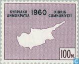 Postage Stamps - Cyprus [CYP] - Declaration of Independence