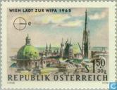 Postzegeltentoonstelling WIPA 1965