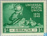 Timbres-poste - Gibraltar - 75 ans de l'UPU