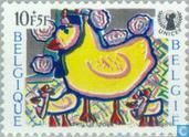 Postage Stamps - Belgium [BEL] - Children's Drawings