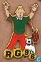 Pins and buttons - Tintin - RG 96 (Tintin and Snowy)