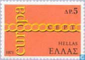 Briefmarken - Griechenland - Europa – Gliedern