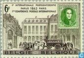Postage Stamps - Belgium [BEL] - Centenary first Post Conference in Paris