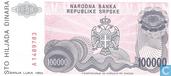 Bankbiljetten - Narodna Banka Republike Srpske - Srpska 100.000 Dinara