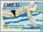 Briefmarken - Irland - Amateur Swimming Association 100 Jahre