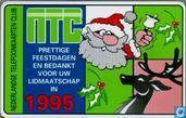 NTC, prettige feestdagen en bedankt voor uw lidmaatschap in 1995