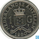 Nederlandse Antillen 1 gulden 1980 (Juliana)