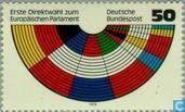 Postzegels - Duitsland, Bondsrepubliek [DEU] - Verkiezingen Europese Parlement