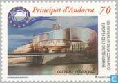Timbres-poste - Andorra - Bureaux espagnols - 50 ans des droits de l'homme
