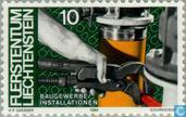 Postage Stamps - Liechtenstein - People and work