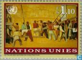 Timbres-poste - Nations unies - Genève - Symboles UNO
