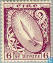 Timbres-poste - Irlande - symboles irlandais