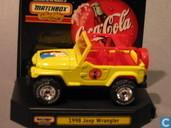 Model cars - Matchbox - Jeep Wrangler 'Coca-Cola'