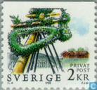 Midsummer Night festival in Zweden